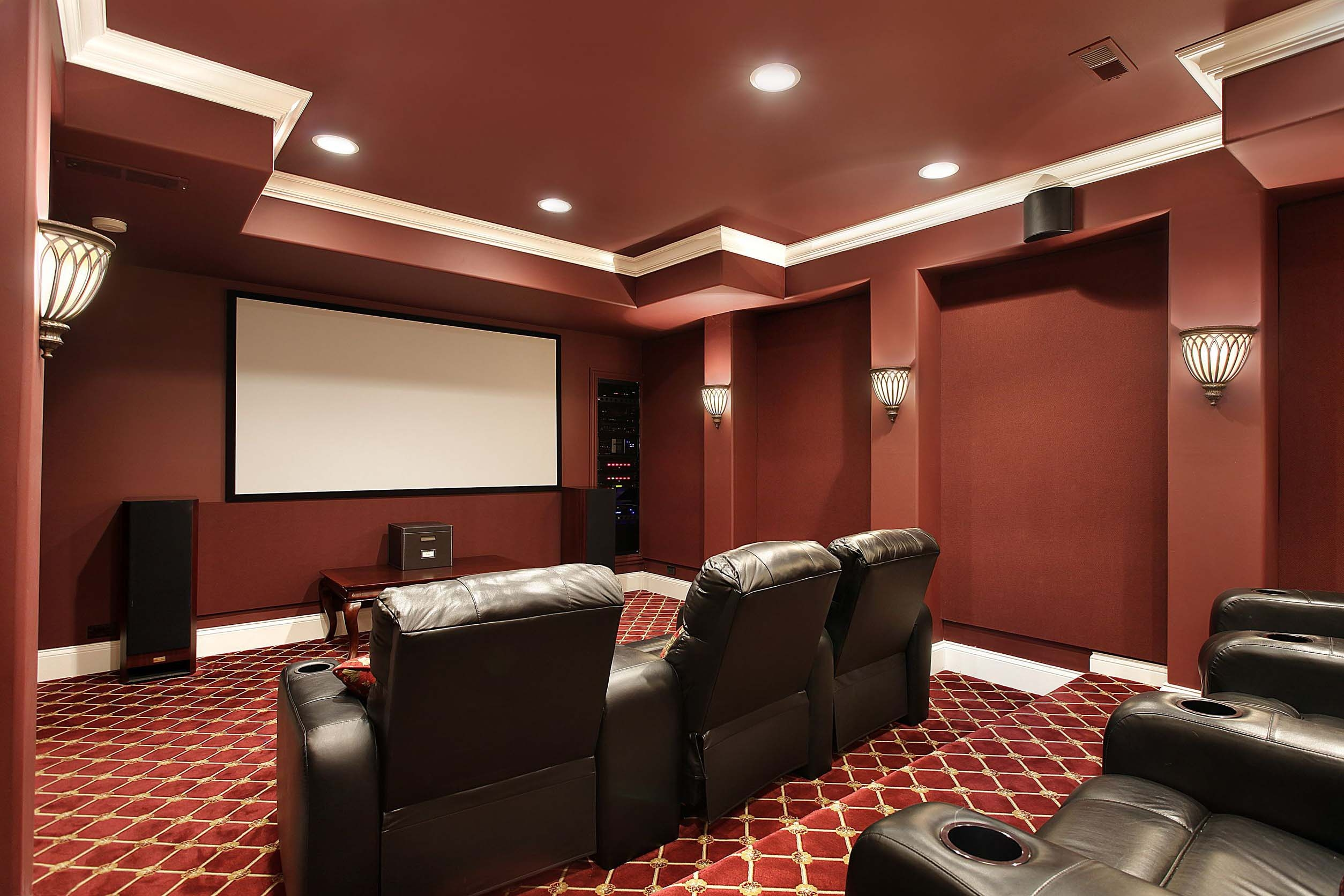 Home Theater Installation Repair Platinum Audio Visual How To Install System Best Theatre Room Design Intended For