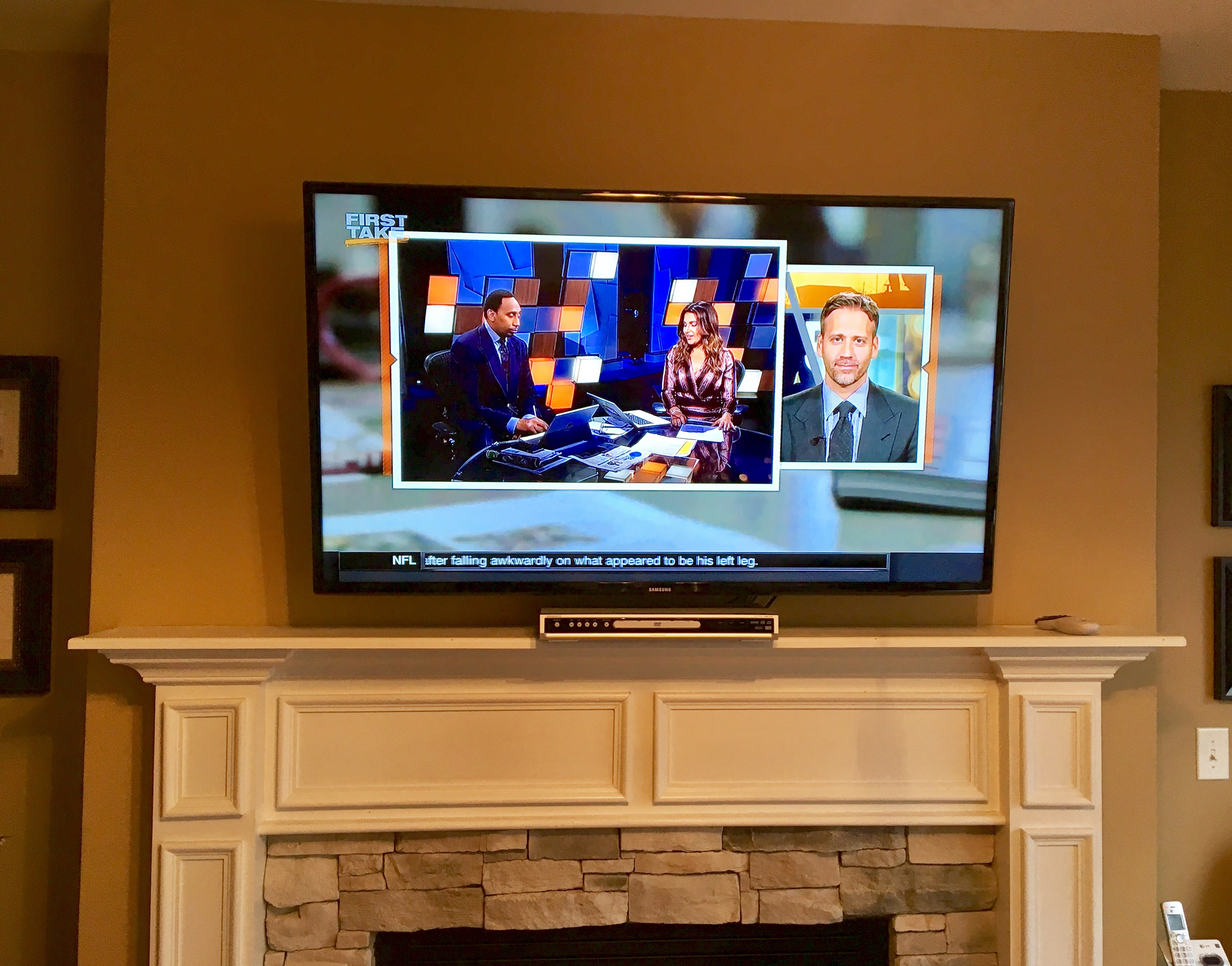 Fireplace TV Mounting in Richmond, Kentucky