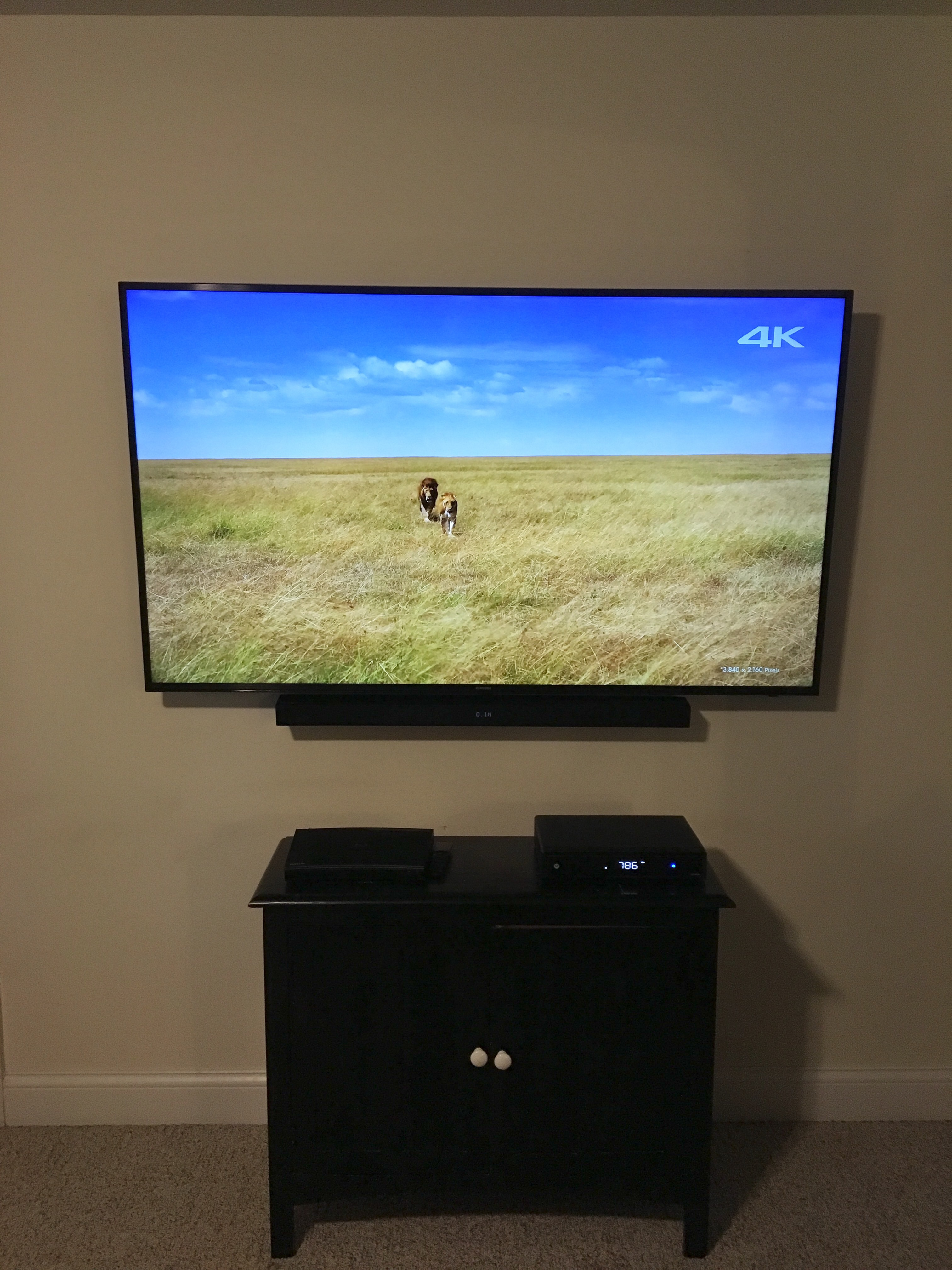 Samsung TV and Sound Bar Installation • Berea, Kentucky