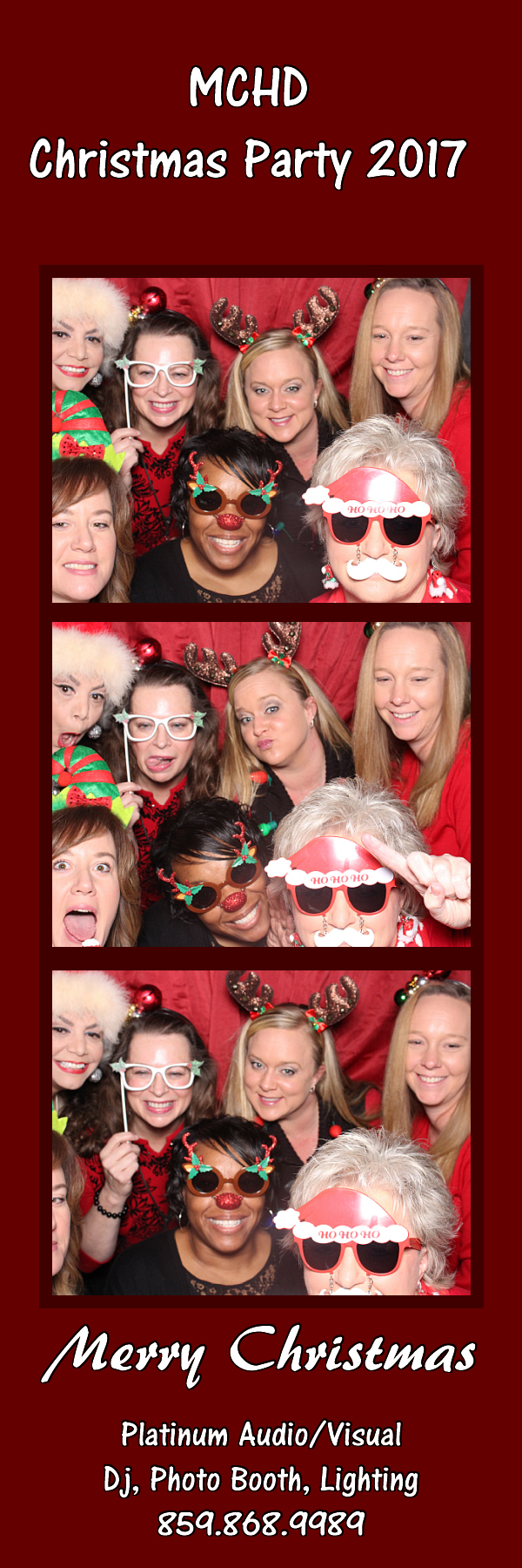 Madison County Health Department Christmas Party 2017